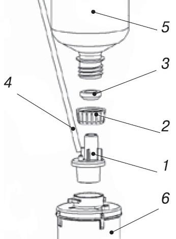 Регенерация модуля Аквафор Кристалл К1-04